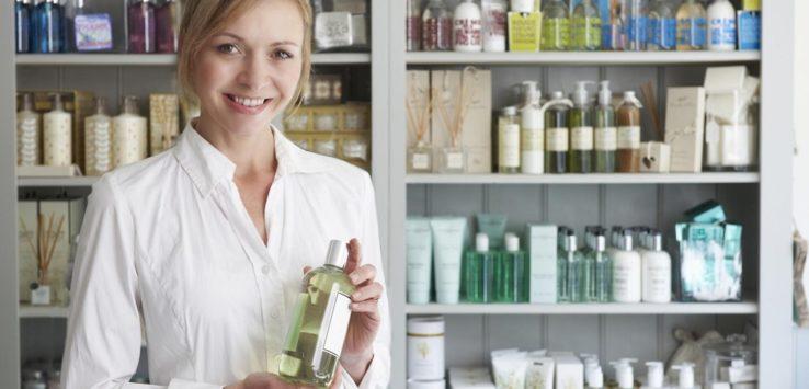 distribuição de cosméticos